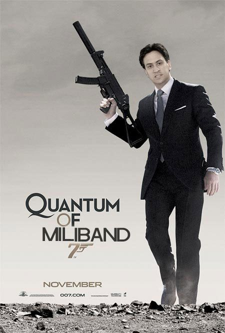 11 Movie Posters Completely Ruined By Ed Miliband James Bond