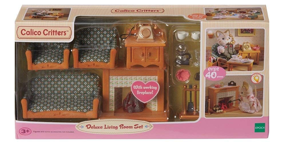 Calico Critters Deluxe Living Room Set In 2021 Living Room Sets Room Set 3 Piece Living Room Set