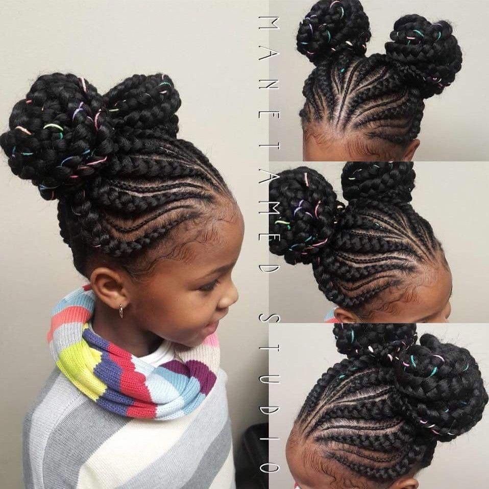 Cute Hairstyles Easy Updos For Girls Short Haircut Styles 2016 Female 20190126 Braided Ponytail Hairstyles Braided Bun Hairstyles Kids Hairstyles