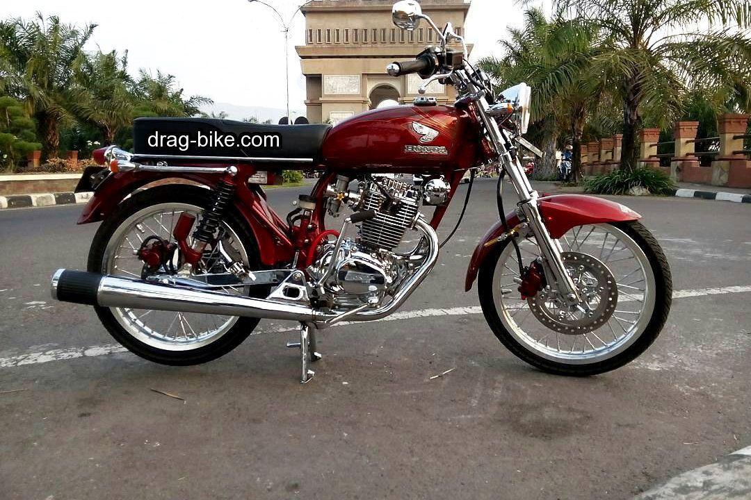 Modifikasi Motor Antik Cb 100 Motor Gambar Sejarah