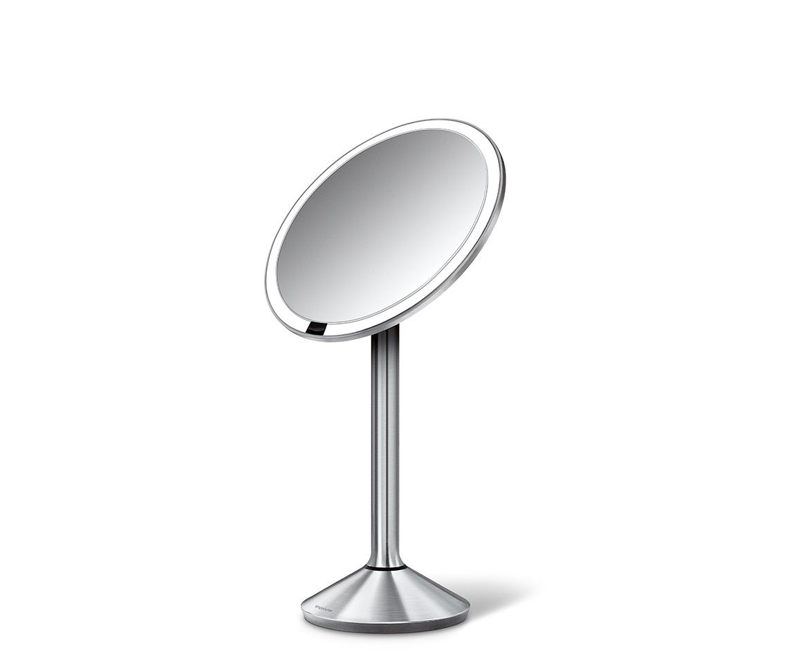 160 The Simplehuman Sensor Mirror Lights Up Automatically As Your