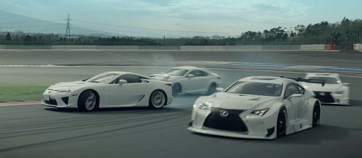 Dance of F by Lexus | Lexus LFA