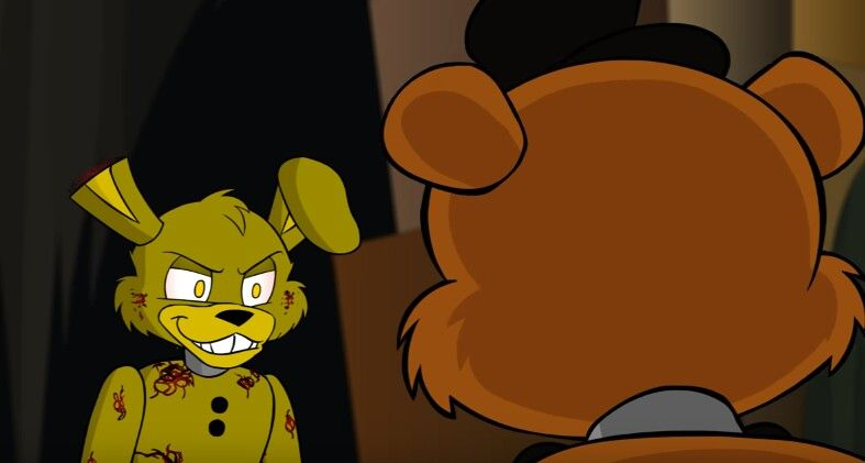 картинки приключения аниматроников спрингтрапа запросу торты киндеров