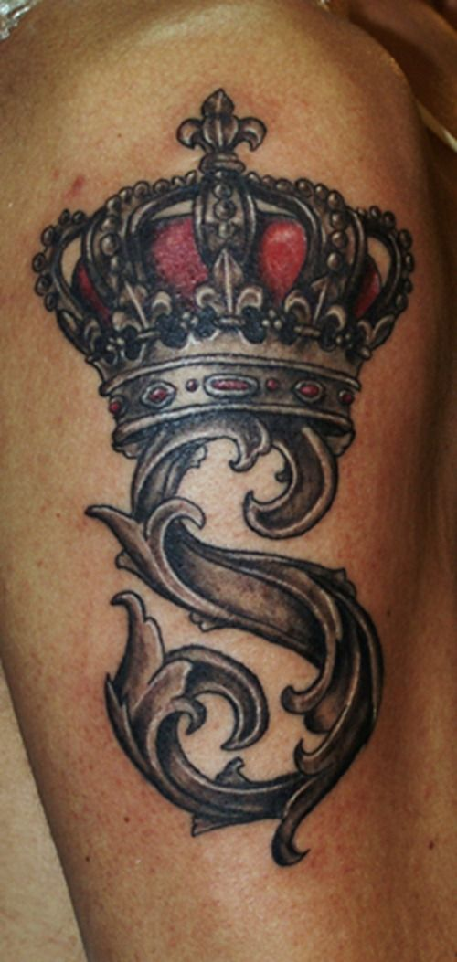 Related Tattoos Heart Crown Tattoo For Girls Heart With Crown Tattoo