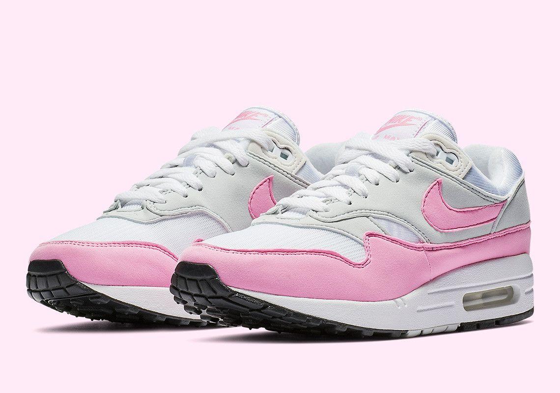 95c46b74dce1 Nike Air Max 1 Psychic Pink BV1981-101  thatdope  sneakers  luxury