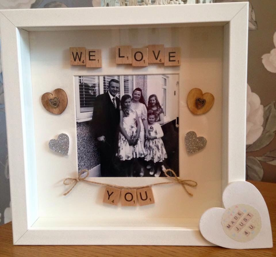 We love you | scrabble crafts | Pinterest