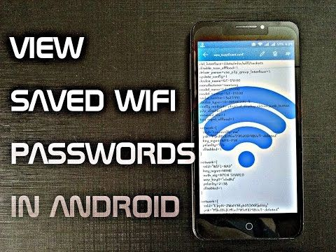 Easy way to see Wifi password on android Device
