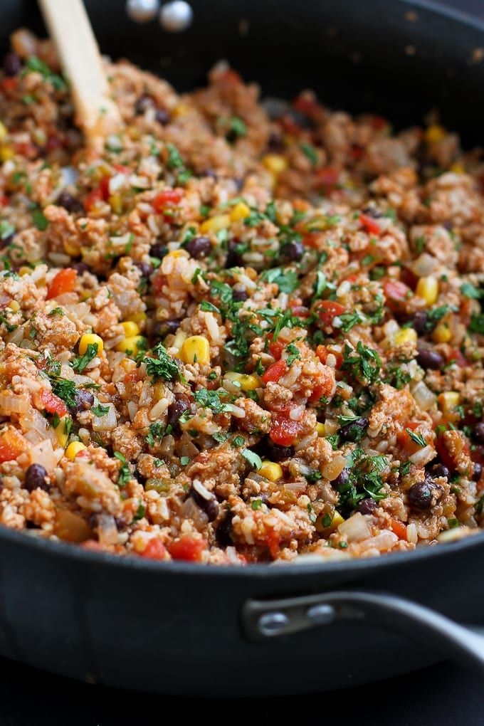 Photo of Southwestern Turkey Rice Casserole Recipe