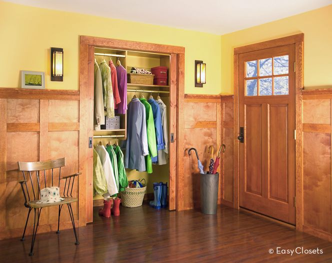 Beautiful Entryway Closet Design Ideas   ... Room Entryway Entertainment Living  Spaces Entrance Foyer Closet
