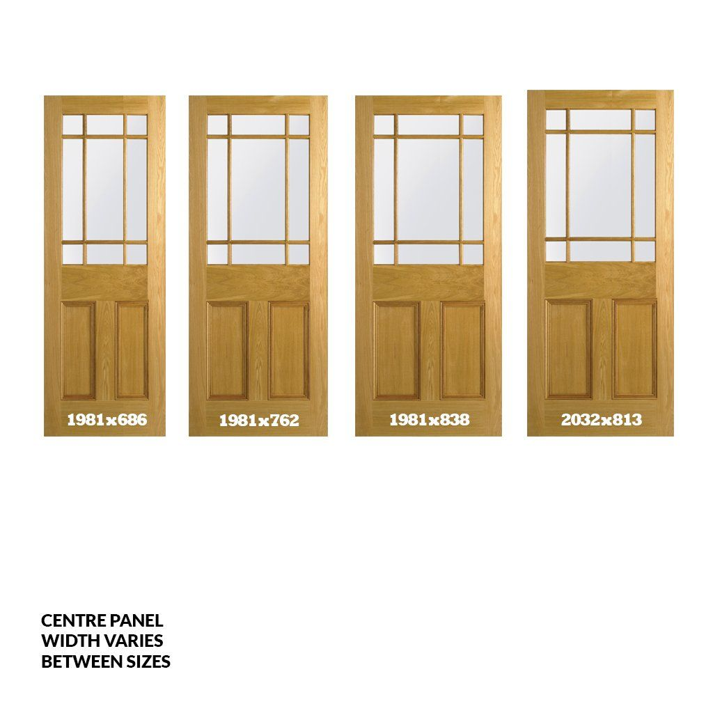 Downham Oak Door with Safety Glass Options - Full Image  sc 1 st  Pinterest & Downham Oak Door with Safety Glass Options | Oak Doors With Glass ...