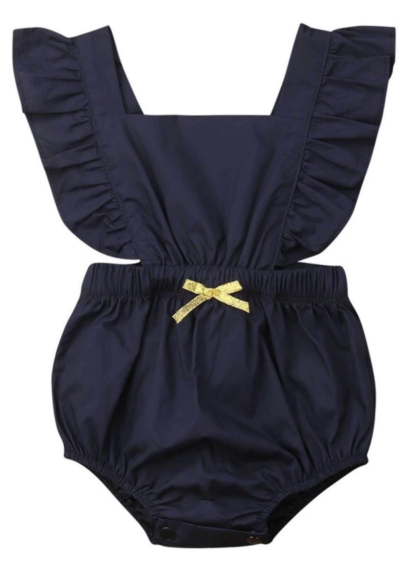 8f549f8bd4558 Ruffled One Piece Romper | Cute Rompers | Modern baby clothes, Baby ...