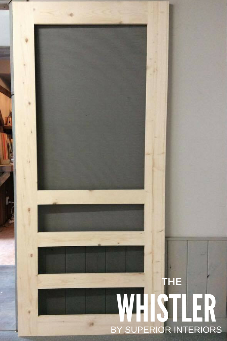The Whistler Superior Screen Doors Screen Doors Pinterest