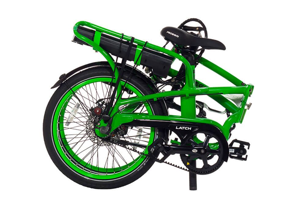 Pedego Latch Electric Folding Bike Pedego Electric Bikes Folding Electric Bike New Electric Bike Folding Bike