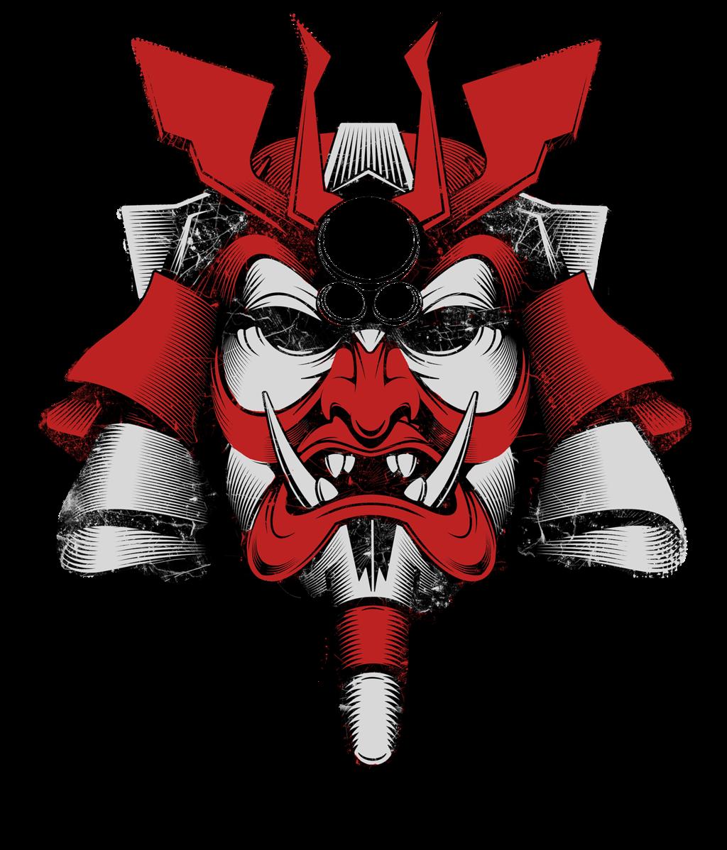 Samurai Mask Of Doom By Burningeyestudios On Deviantart Samurai Wallpaper Japanese Mask Tattoo Japanese Tattoo