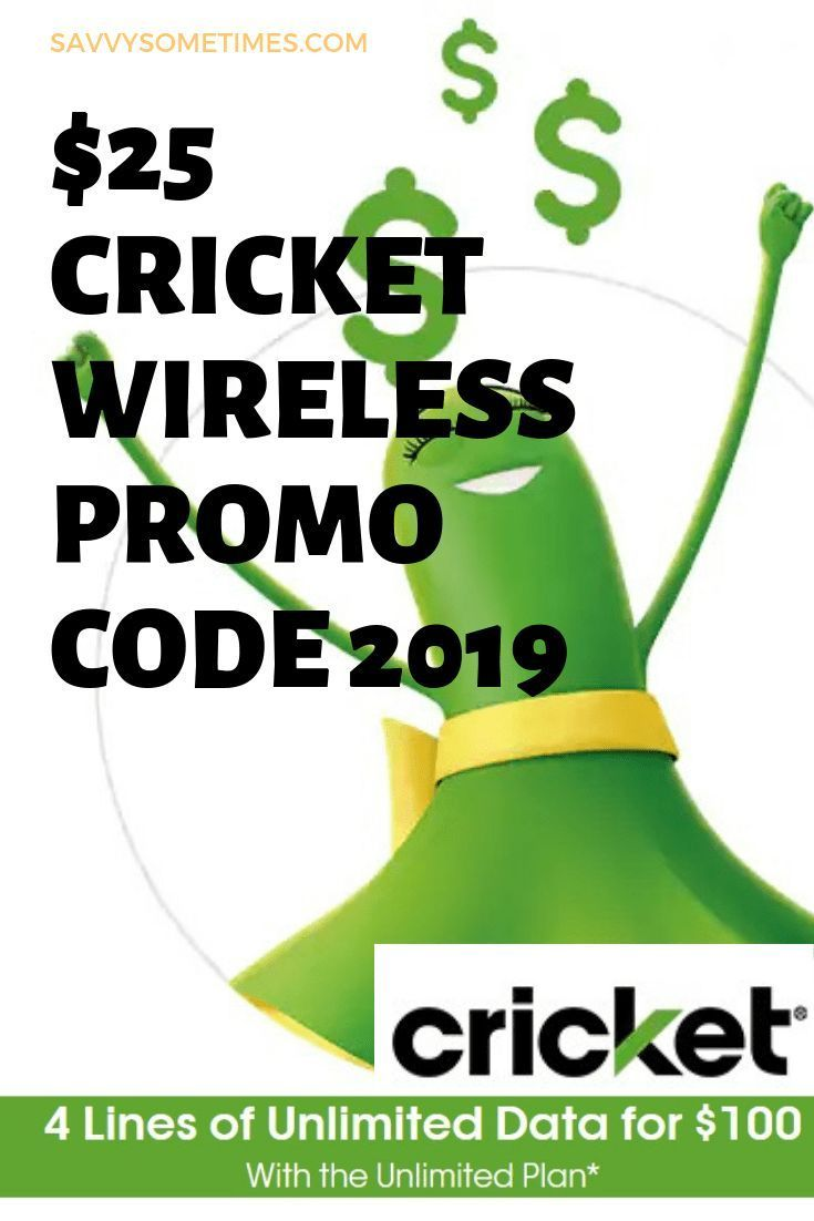 Cricket wireless promo code referral 2020 how to get 25
