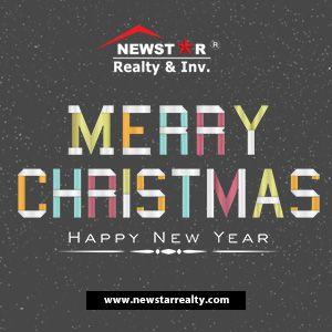 Merry Christmas Happy New Year Newstarrealty Com Happynewyear Homeforrent Homeforsale Merryc Merry Christmas And Happy New Year Happy New Year Happy New
