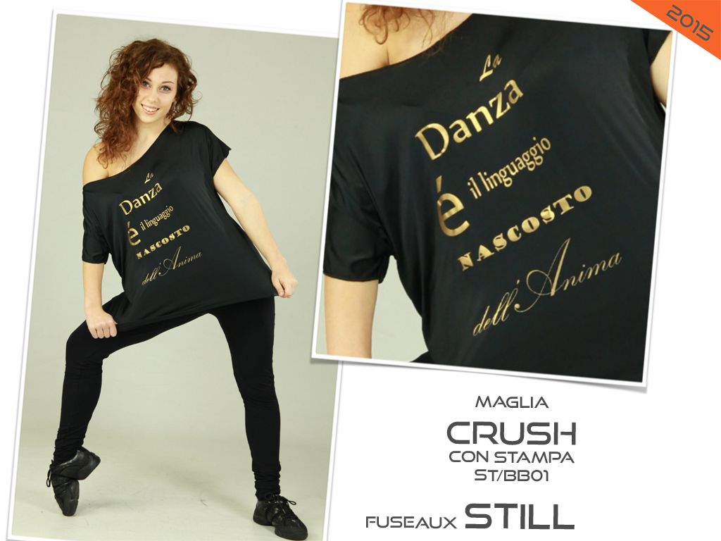 CRUSH - STILL costume danza saggio