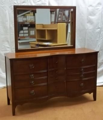 Dixie Dresser 9 Drawers With Mirror 63
