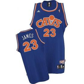 new product c6e17 d1ea0 Men's Adidas Cleveland Cavaliers #23 LeBron James Swingman ...