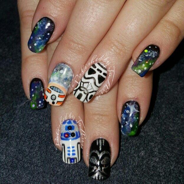 Starwars nails