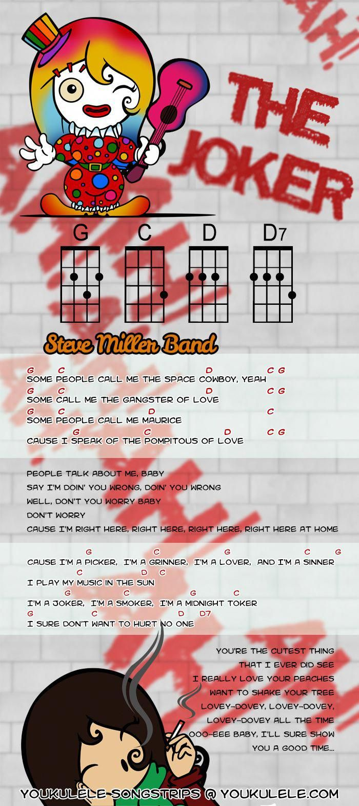 Steve Miller Band The Joker · YOUkulele · Ukulele