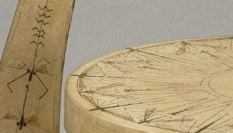 "Carlo Bugatti, chaise ""Escargot"", 1902, Musee d'Orsay, Paris"