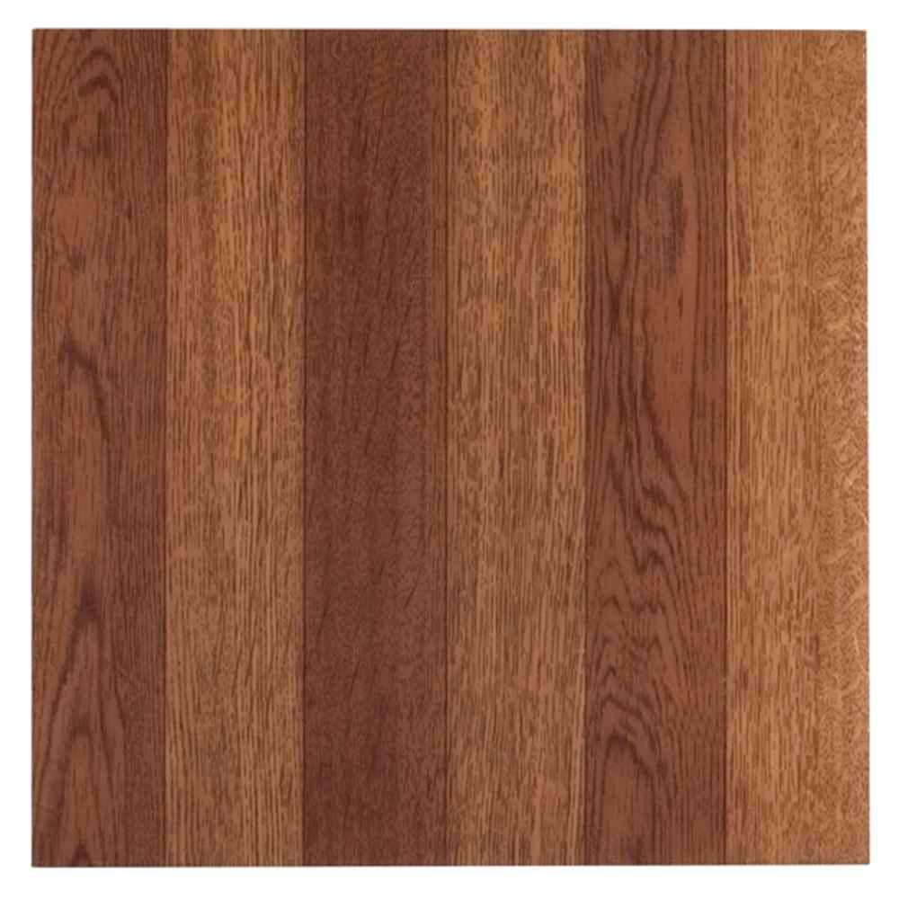 Achim Tivoli Medium Oak 12 In X 12 In Peel And Stick Plank Pattern Vinyl Tile 45 Sq Ft Case Oak Planks Vinyl Flooring Vinyl Tile
