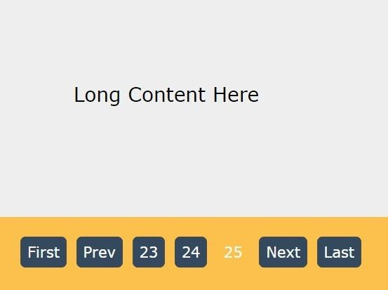 Tiny Flexible jQuery Pagination Plugin - MXPage js | jQuery