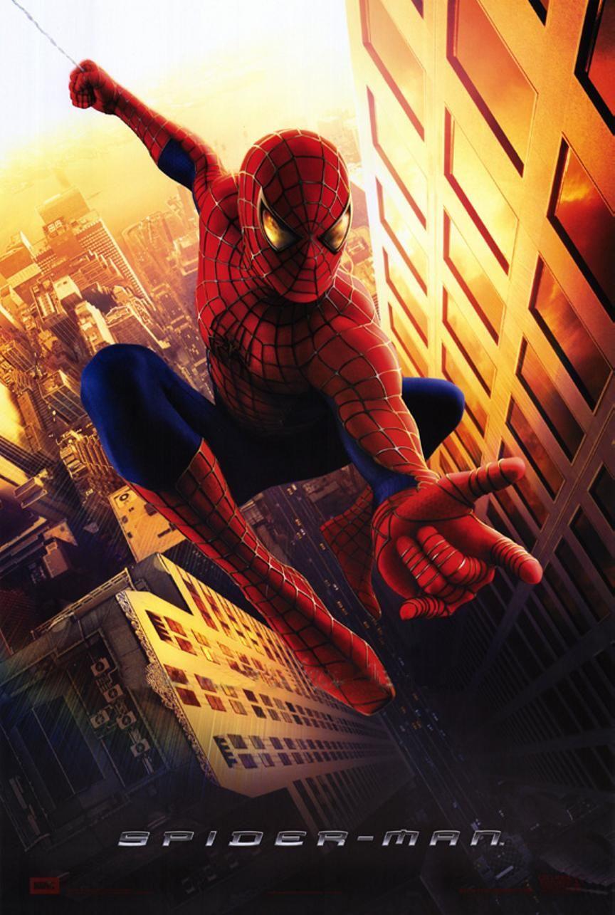 Throwbackthursday Spiderman 2002 Columbiapictures Tobeymcguire Kirstendunst Jamesfranco Spiderman Movie Spiderman Spiderman Poster