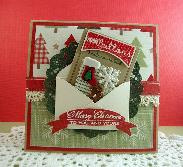 Empty Nest Crafter Holiday Button Boutique Papertrey Ink - sample apology letter for being late