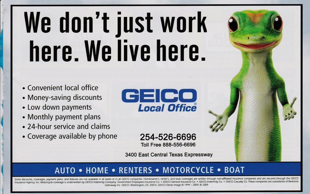 2010 Magazine Ad Geico Insurance Gecko Advertisement Print We Live