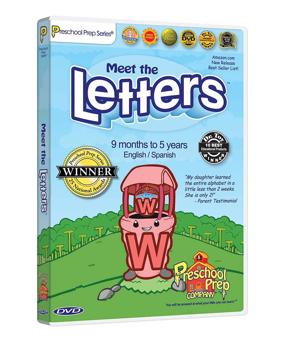 Meet The Letters Dvd Products