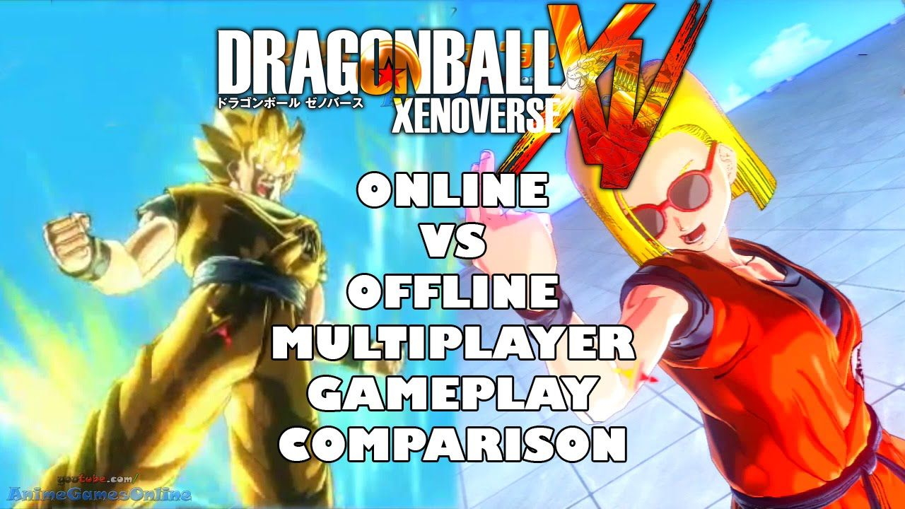 Dragon Ball Xenoverse Online Vs Offline Local Multiplayer Gameplay