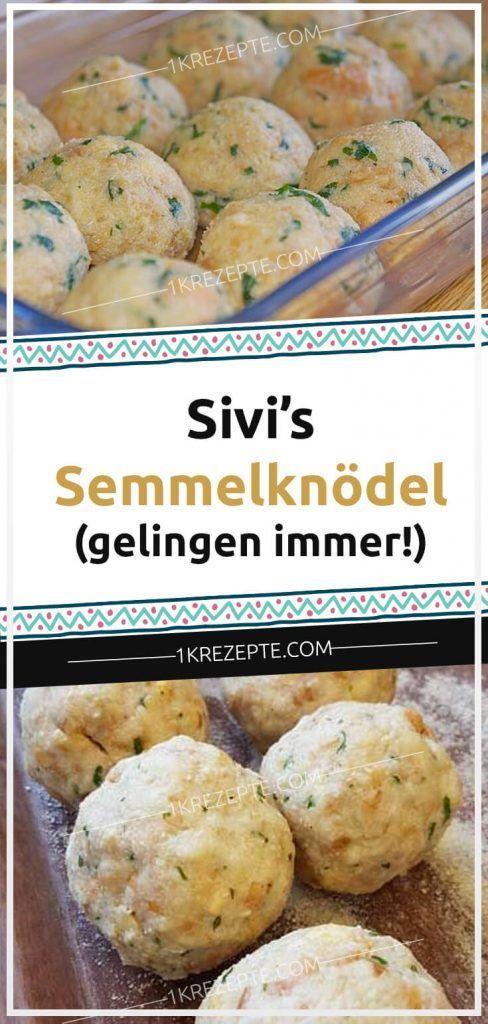 Sivi's Semmelknödel (gelingen immer!) #gulaschrezept