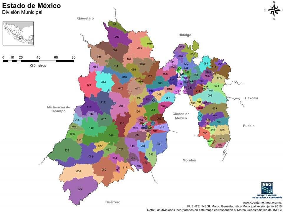 Mapa Del Estado De Mexico Con Nombres Y Para Imprimir Mexico Desconocido Mapas Mapa Mexico Con Nombres Mapa De Mexico