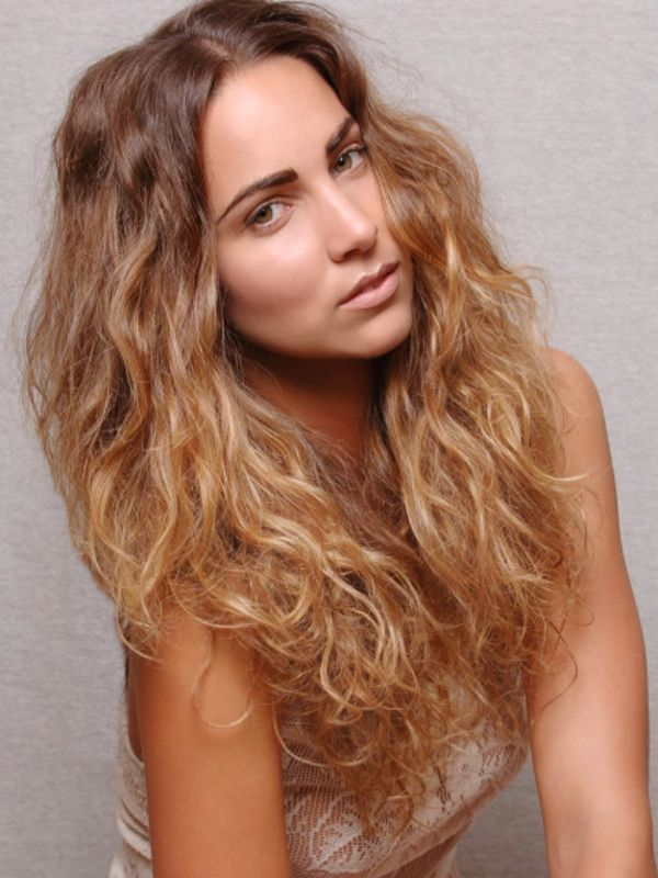 50 Hairstyles For Frizzy Wavy Hair | Frizzy wavy hair, Wavy hair and ...