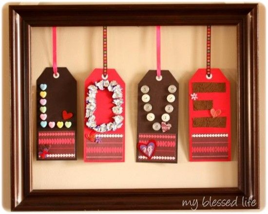 cute Valentines craft to make with the kids