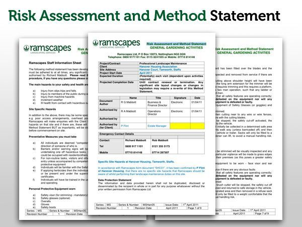 Free Method Statement Template XCqazrm  Engineering