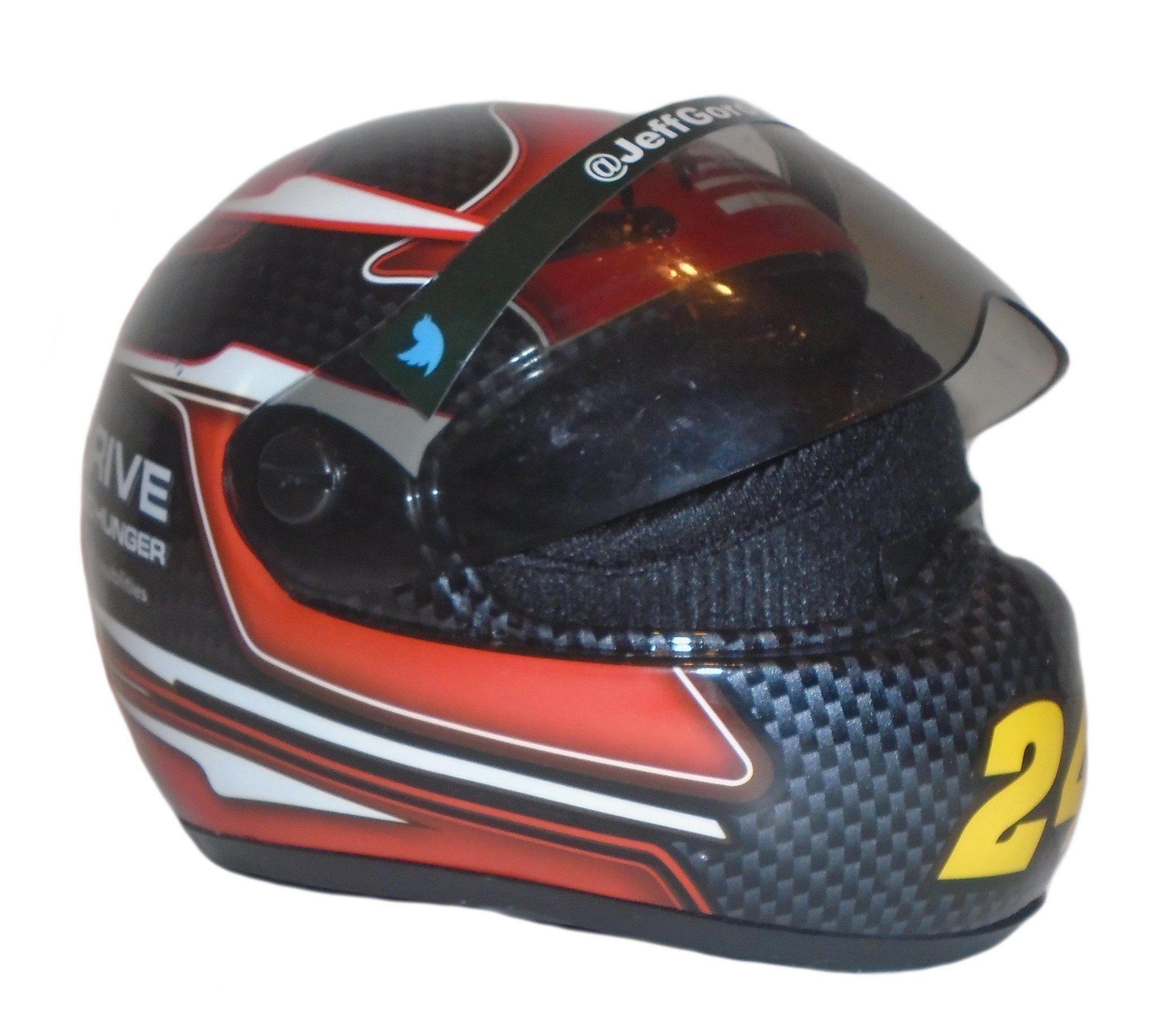 Jeff Gordon Autographed 1:3 Scale Nascar #24 Drive 2 End