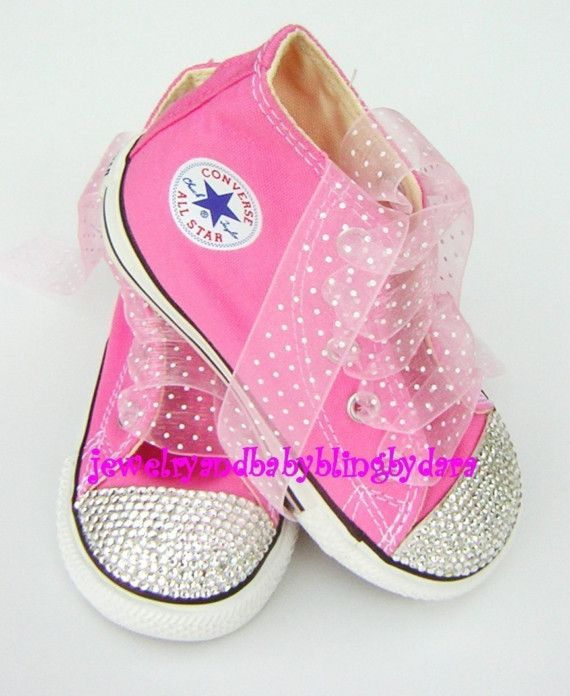 b25806a393b5 Blinged out Chucks... A must for the Bella closet  )