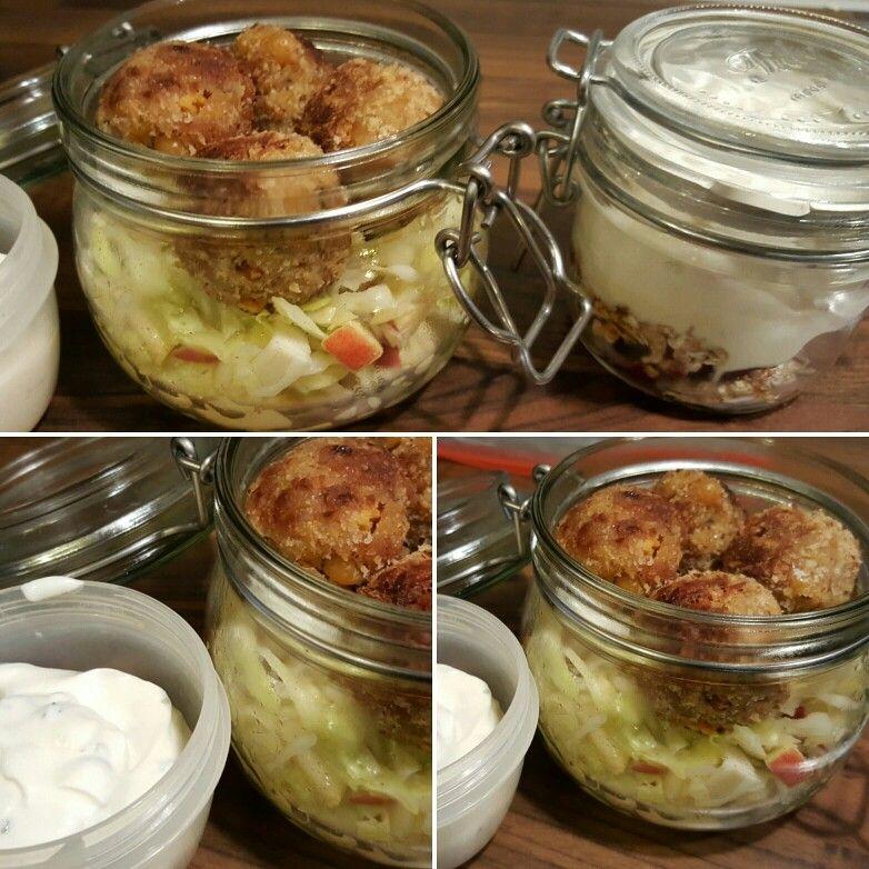 Spitzkohl-Apfel-Salat