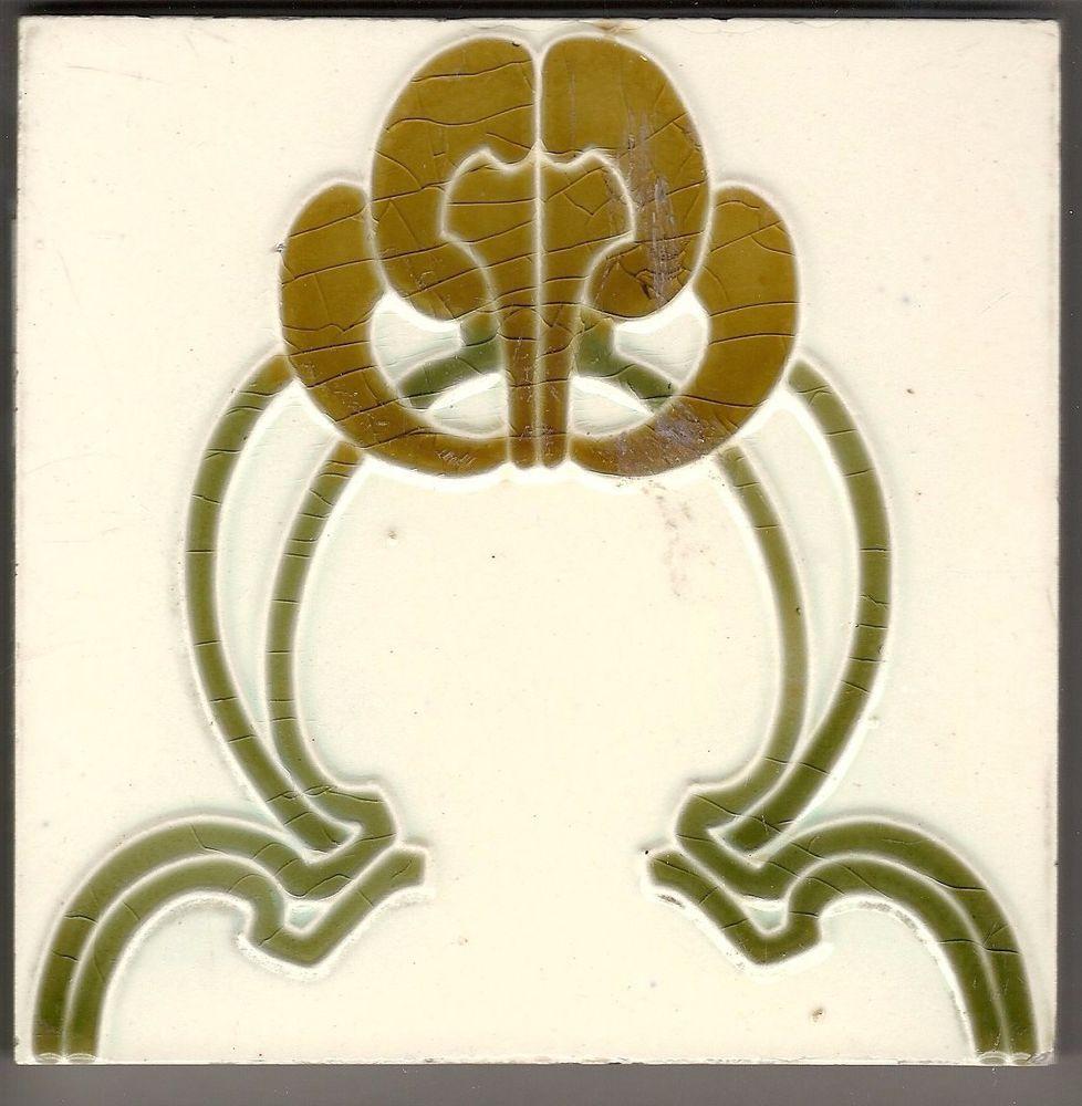 Jugendstil Fliese Wessel Bonn Art Nouveau Pinterest Jugendstil - Wessel keramik fliesen