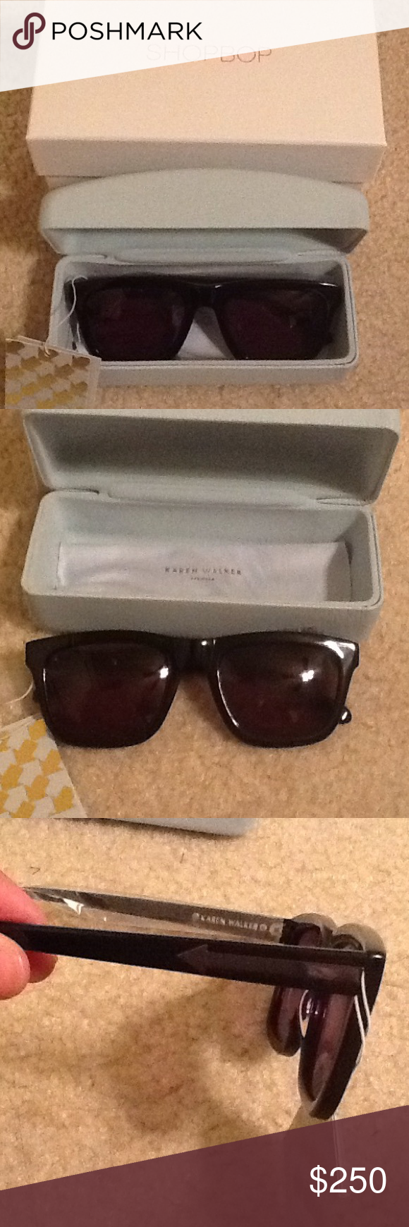 b55c1bfc9ee NWT Karen Walker Deep Freeze Sunglasses New Karen Walker Deep Freeze  Sunglasses. In perfect condition my mom got them for me and I just didn t  like the way ...