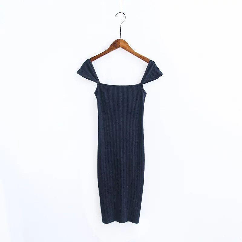 New Unique Design Women Spaghetti Strap Dress Mini Dresses Sexy Female Vestidos Backless Sleeveless Slash Neck Cotton