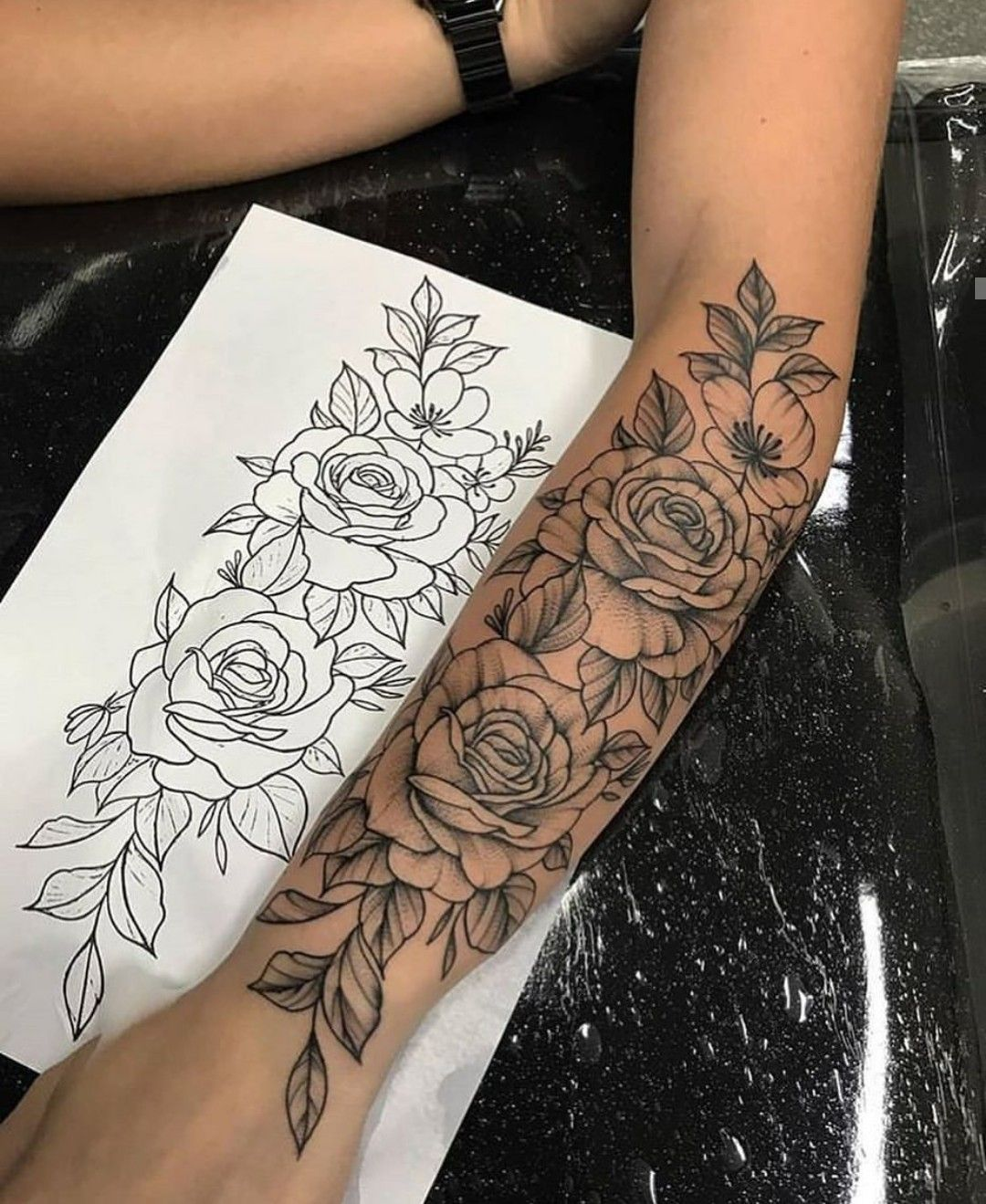 Pin von Cindy Ott auf TATUAJES | Tattoo ideen unterarm