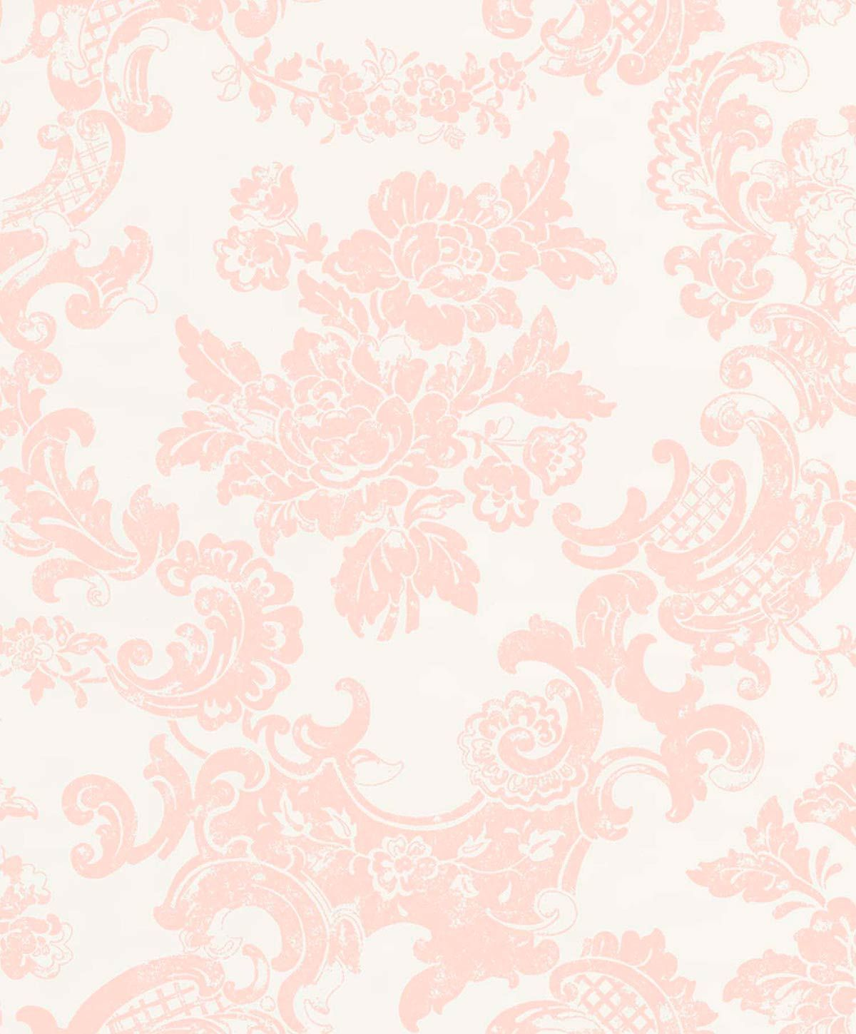 A Gorgeous Lace Effect Wallpaper Vintage Lace Recreates The Beauty Of Bygone Times And Is Perfectly Lace Wallpaper Pink Damask Wallpaper Grey Damask Wallpaper