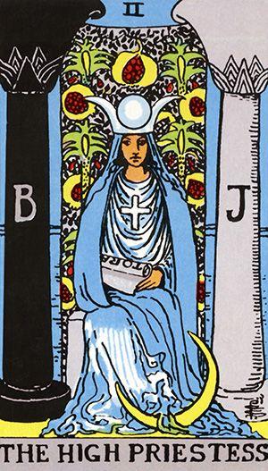 O Tarot desvenda o seu inconsciente. | http://goo.gl/AQcz8l | Cada um dos arcanos do Tarot tem seu significado, e a ordem e a combinação como estes se apresentam no jogo determina a interpretação do que está por vir na vida de alguém. Há quem defenda que o jogo de tarot apenas esclarece o que você já sabe, funcionando com uma luz de orientação. Veja o significado da Carta: A Sacerdotiza
