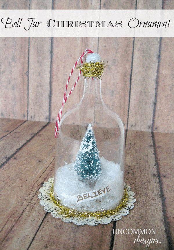30 DIY Christmas Ornament Ideas  Tutorials Christmas ornament