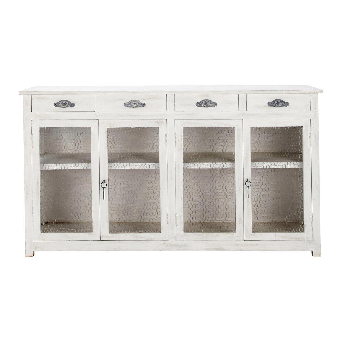 aparador de cocina blanco bocage 499 maison