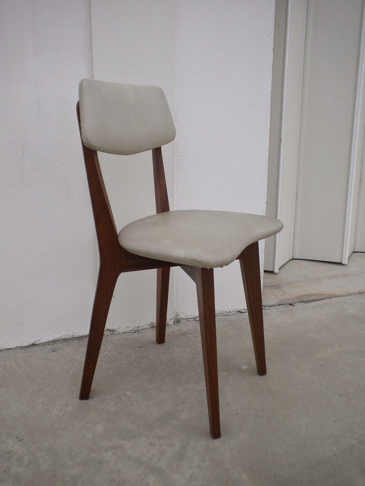 De vintage cadeiras vintage tola napa branca anos 50 for Mobilia anos 50